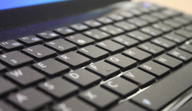 A Macbook keyboard. Photo by Chris Cummings from FreeImages.com